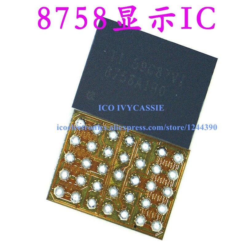 5 unids/lote 8758A1B0 para Huawei MATE8 P9 pantalla LCD IC 35 pines pantalla IC chip
