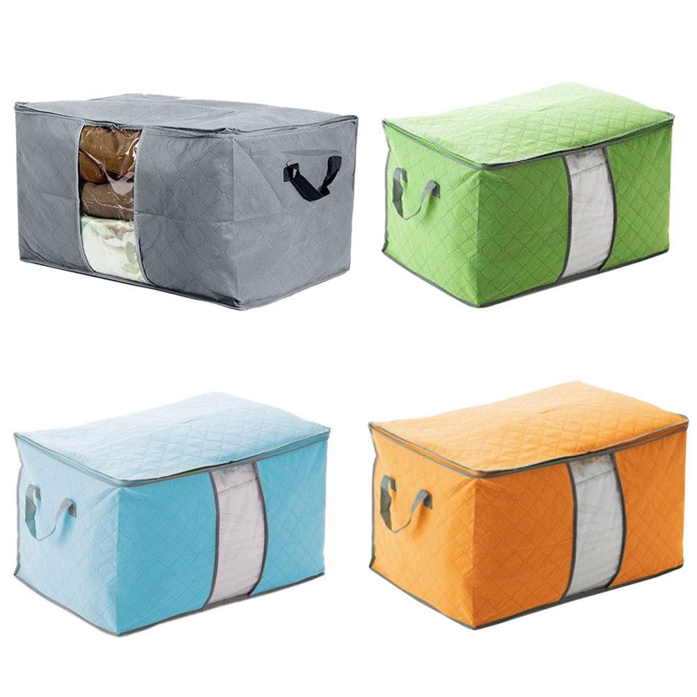 Nuevo bolso plegable para habitación, caja de almacenamiento, organizador para mantas para ropa, colcha, saco de almacenamiento compacto, gran oferta