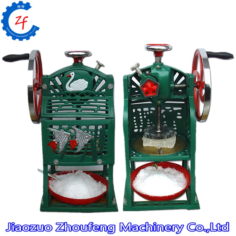 ZF-ماكينة حلاقة يدوية للثلج ، كسارة ثلج صيفية ، للحلوى والثلج
