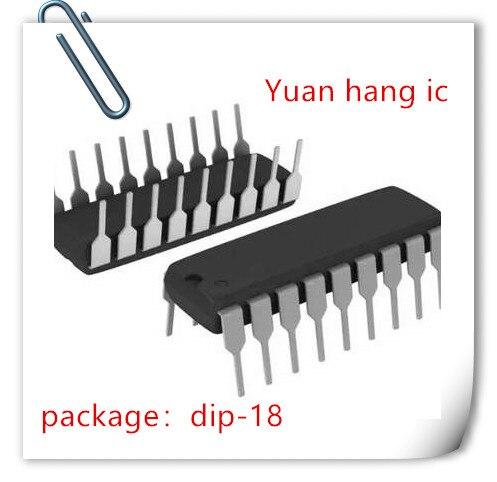 Nuevo 10 unids/lote PIC16F628A-I/P PIC16F628 16F628A DIP-18 IC