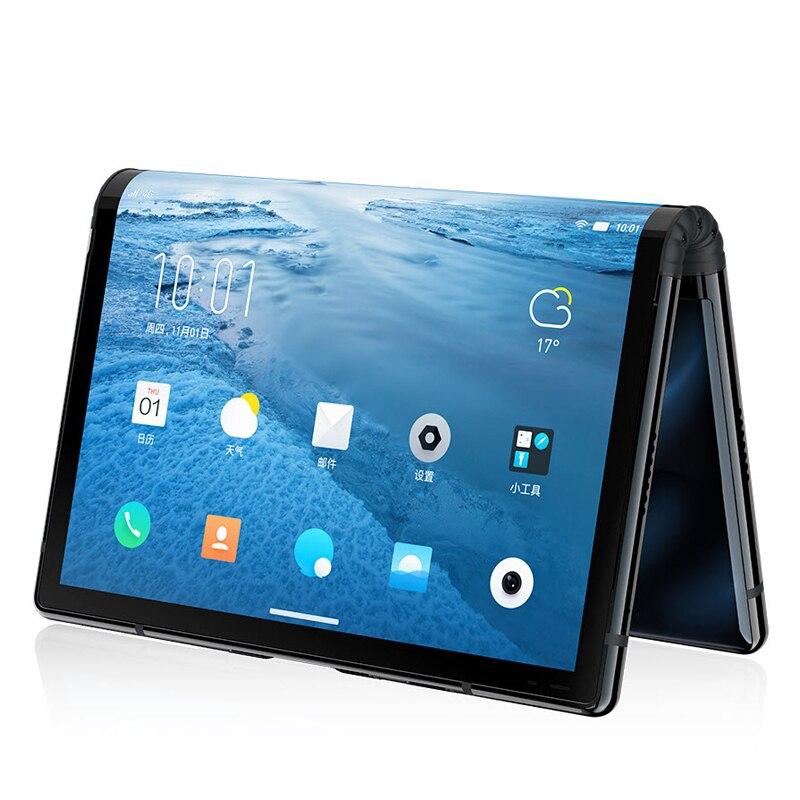 Фото4 - Оригинальный складной телефон Royole FlexPai, гибкий AMOLED экран 7,8 дюйма, 6 ГБ + 128 ГБ, Восьмиядерный Snapdragon 855, 3970 мАч смартфон