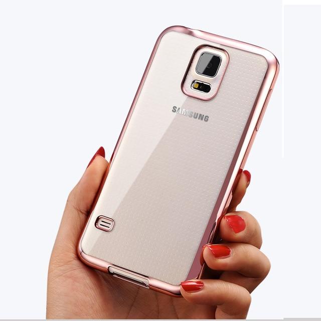 Cover For Samsung Galaxy S5 S 5 Neo S5Neo G900F G900H G903F G903W SM-G900F SM-G900H Phone Case Clear Ultrathin TPU Silicon