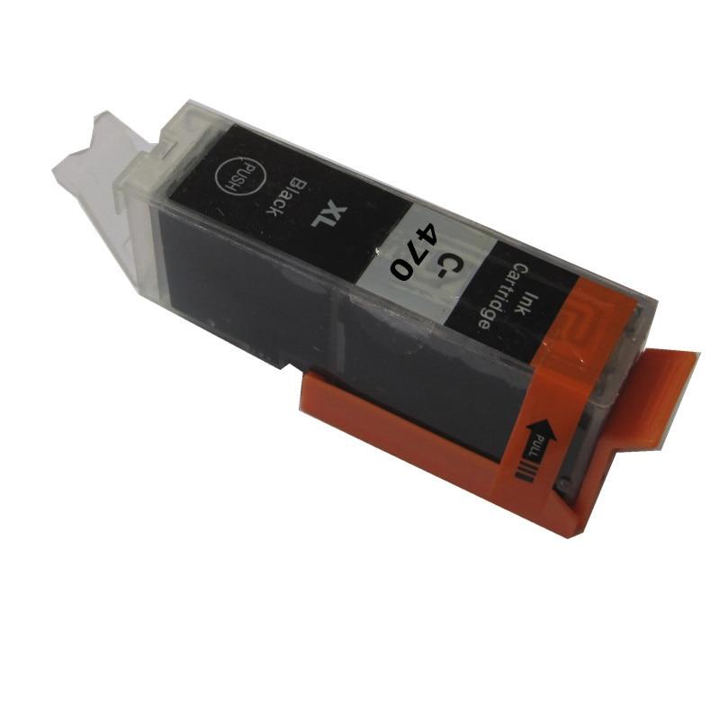 PGI-470BK PGI-470 470BK cartucho de tinta compatible para canon PIXMA MG 6840 MG 5740 MG6840 MG5740 TS5040 TS6040 impresora