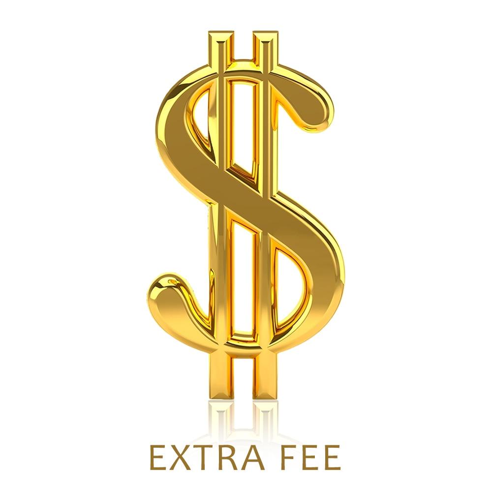 New customers don't order custom links extra fee