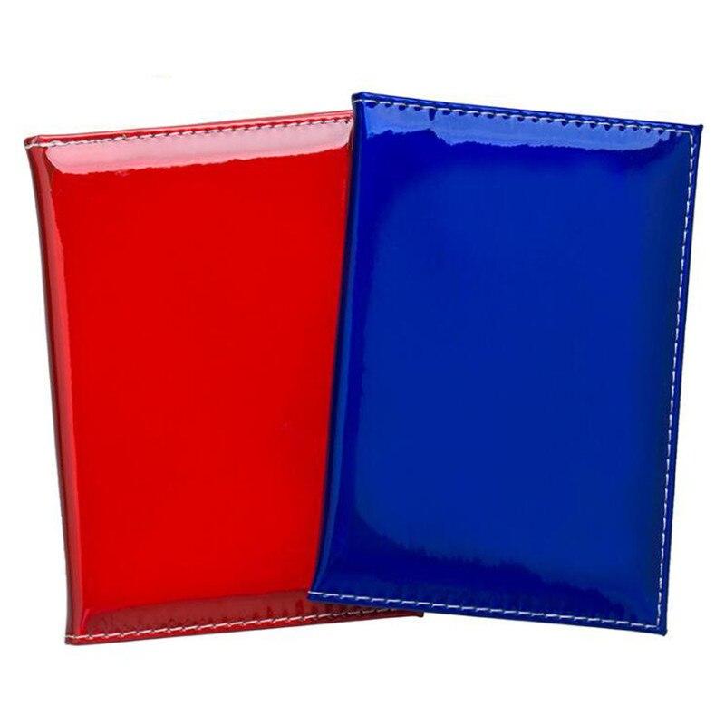 Gran venta de fundas holográficas para pasaporte, portatarjetas de viaje, fundas con espejo láser, portatarjetas para pasaporte