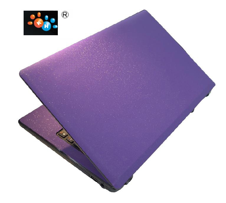 "KH especial Laptop cepillado Glitter Sticker piel cubierta Protector para Acer SF113 13"""
