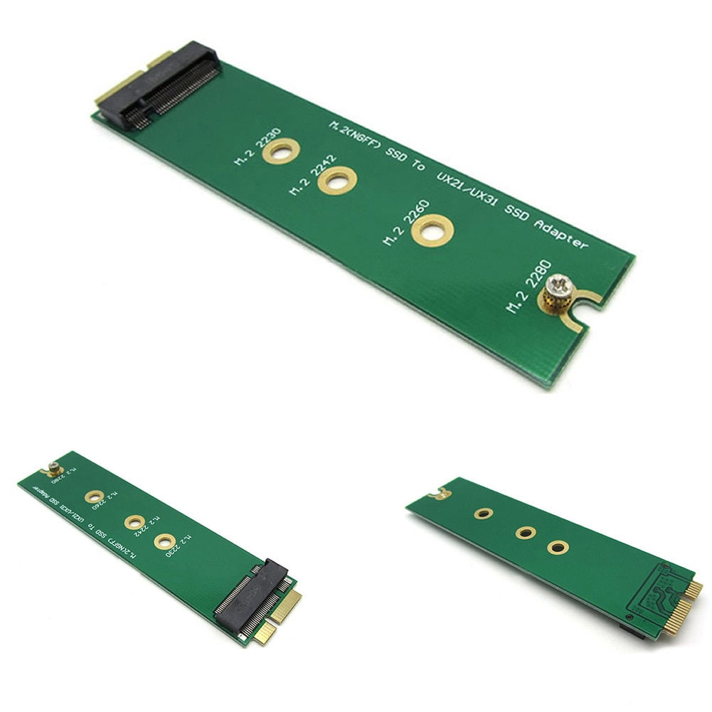 PCIE PCI express 2 полосы M.2 PCI-E ssd SSD 30 мм 42 мм для Asus EP121 UX21 UX31 ADATA XM11 SSD Add на картах PCBA