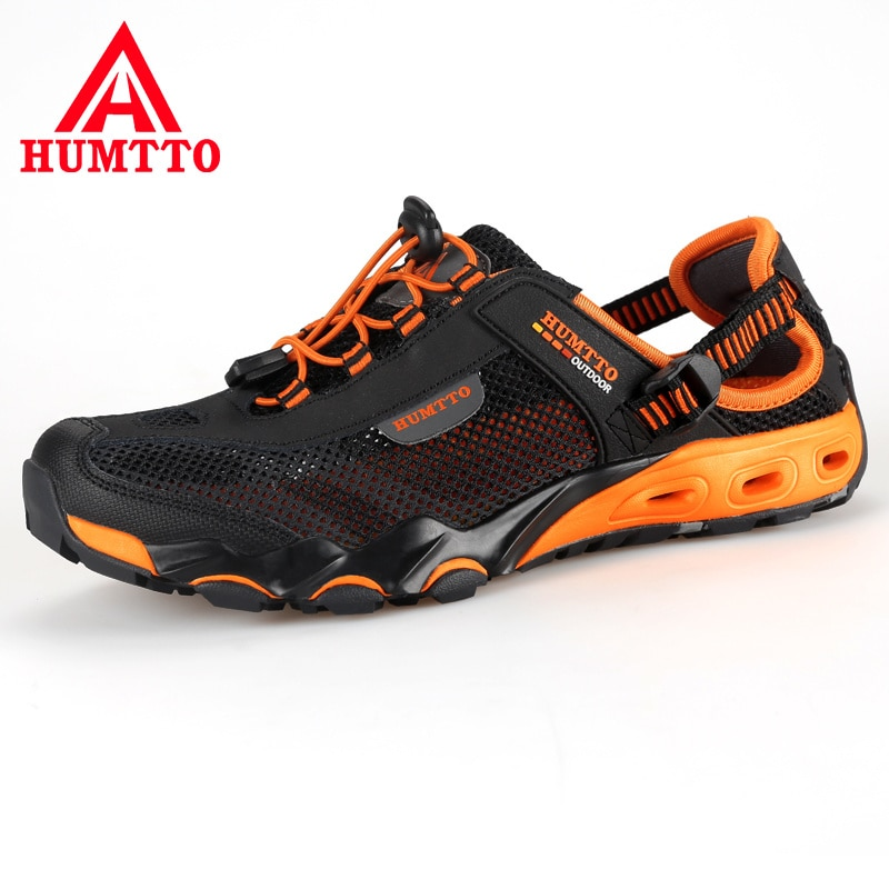 AliExpress - Summer Fashion Sandals Men Outdoor Leather Mesh Beach Breathable Mens Shoes Luxury Brand Wear Casual Man Shoes Big Size 36-45
