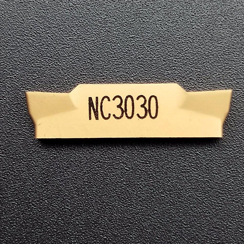 10 Uds MGMN300-M NC3020 NC3030 Herramientas CNC de corte de ranurado ancho de 3mm inserto de carburo 60%-80% de alta calidad