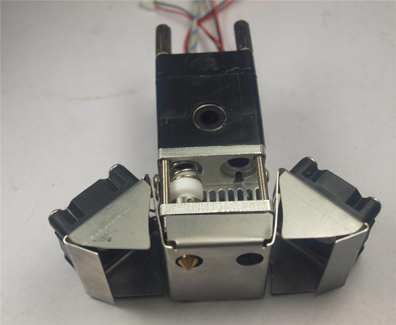 1 مجموعة Ultimaker 2 واحد فوهة رأس الطباعة كيت 24 فولت 25 واط/35 واط الحرارة خرطوشة 3 D طابعة 0.4 ملليمتر فوهة الساخن نهاية الجمعية عدة