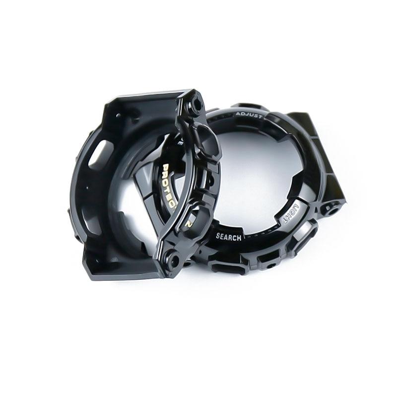 Купить с кэшбэком Resin strap female pin buckle watch accessories strap case for Casio BABY-G BA-111 110 112 120 waterproof rubber strap men