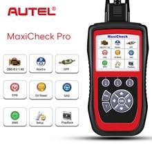 Сканер Autel MaxiCheck Pro для ABS тормозов, авто кровотечение OBD2, инструмент диагностики, EPB/ABS/SRS/SAS/Подушка безопасности/сброс масла/BMS