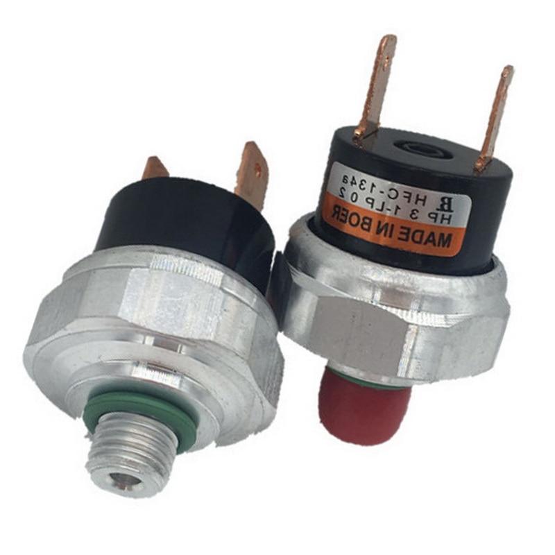 Universal 11mm para A/C Ar Condicionado Sistema de Alta/Baixa Lado Interruptor da válvula Sensor de Pressão Binário