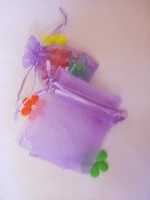 30x40cm 500pcslot christmas organza bags light purple drawstring bag pouch for foodjewelrycandy gift bag small packaging bags