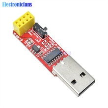 USB zu ESP8266 ESP-01 Wi-Fi Adapter Modul w/CH340G USB zu TTL Fahrer Serielle Drahtlose Adapter Auf-board 3,3 V LDO für Arduino