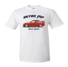 Hommes nouveau style dété Mitsubishi Lancer Evo 6. Jap rétro. Voiture De rallye. Tommi Makinen. Wrc Gagnant. T-shirts drôles pour hommes sweats à capuche