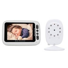 BM206 camara bebe baba eletronica baby phone camera 4.3 inch LCD IR Night Vision 2 way Talk Temperature Sensor 8 Lullabies Zoom