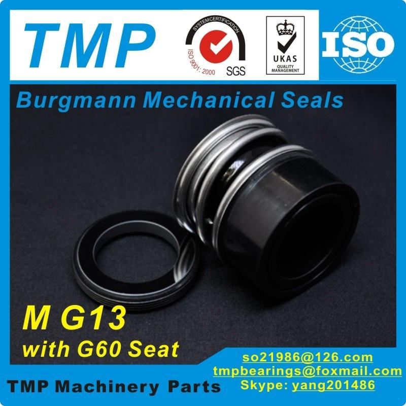 MG13/16-G60 (MG13-16/G60) механические уплотнения Burgmann с G60 стационарное сиденье для размера вала 16 мм насосы (SIC/VIT)