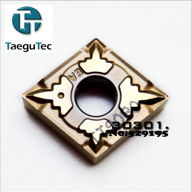 TaeguTec Inserts CNMG120404-EA TT9080 CNMG 120404 Carbide Inserts Lathe Cutter Tools for Turning Tool Holder CNC Tool 10pcs