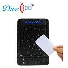 DWE lecteur de portes sans contact rfid   Contrôle daccès RF identification 12V étiquette sans contact, 125khz, 2 cartes gratuites