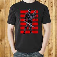 Ojos de serpiente G.I. Camiseta de dibujos animados Gi Joe Ninja, Camiseta de algodón de manga corta para hombre, camiseta desgastada
