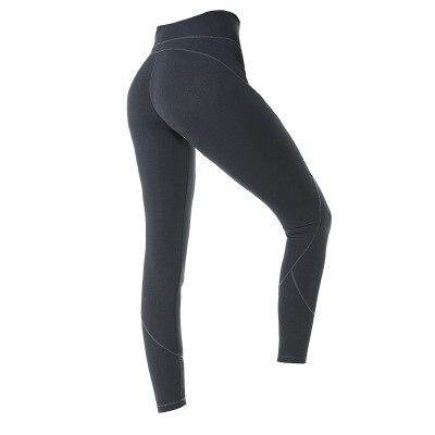 NWT 2020 Eshtanga Push up Tight Sports tight Top Quality Women Yoga pant High Solid Skinny Stretch Leggings Size XS-XL