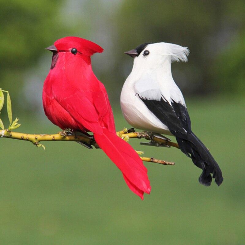1 шт. креативные пенные перья искусственные попугаи имитация птицы модель дома на открытом воздухе сад свадебное украшение DIY для вечеринки