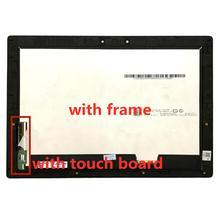 Z ramą 12 ''calowy ekran LCD B120YAN01.0 wyświetlacz LCD z dotykowym dla Lenovo Miix 720 12IKB dotykowy lcd
