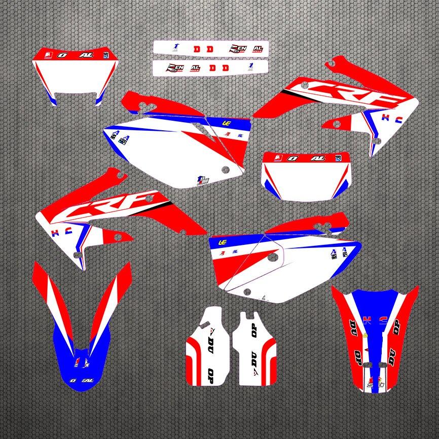 مجموعة ملصقات رسومات الدراجات النارية, ملصقات رسم الدراجات النارية 04-13 CRF250X لهوندا CRF 250X 2004- 2013 2005 2006 2007 2008