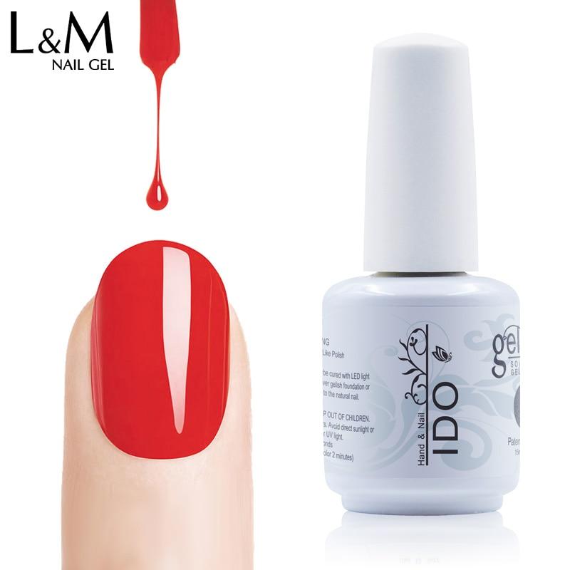 100pcs Free shipping 84colors choice uv soak off LED color gel polish 290 colorful long lasting nail gel polish