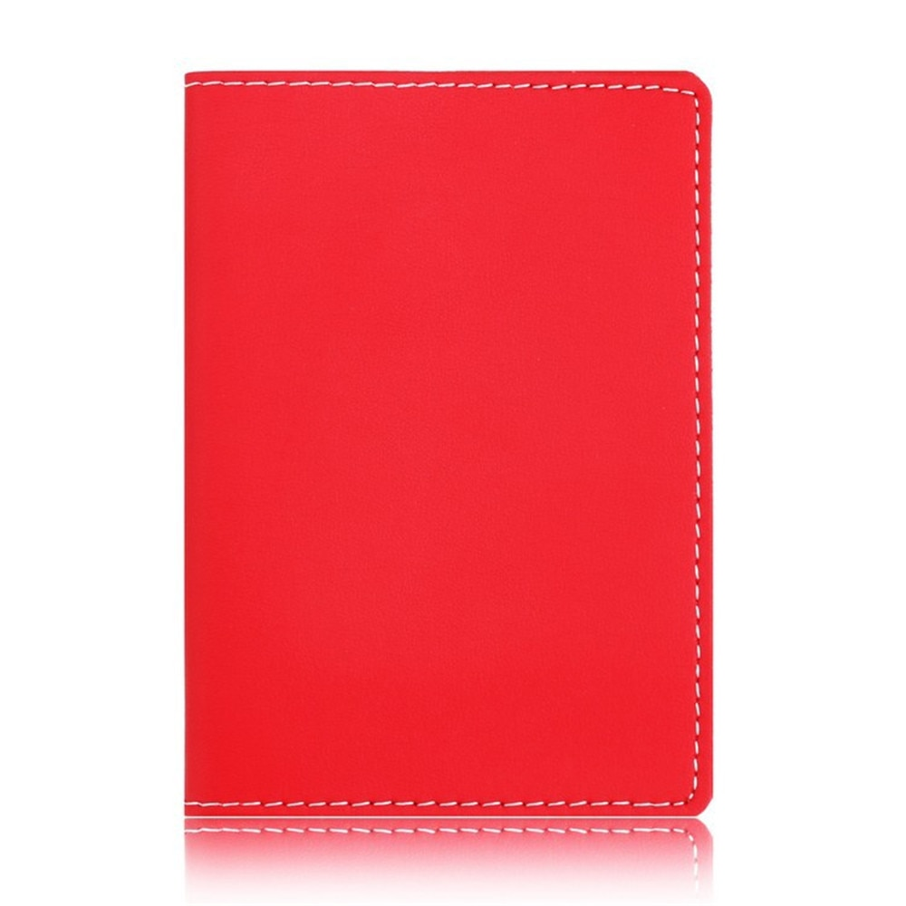Fashion Leather Passport Cover ID Business Card Holder Travel Credit Wallet Purse Case Driving License Thin Card Bag passport cover genuine leather driver license bag crazy horse leather car driving document credit card holder purse wallet case