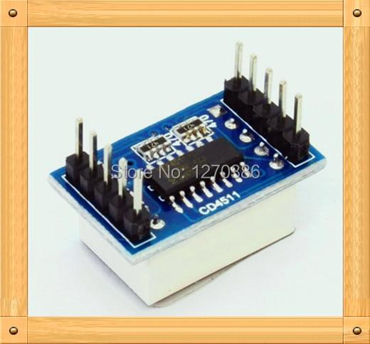 Free Shipping!!! 5pcs CD4511 digital display module / bread board electronic production / BCD-latch
