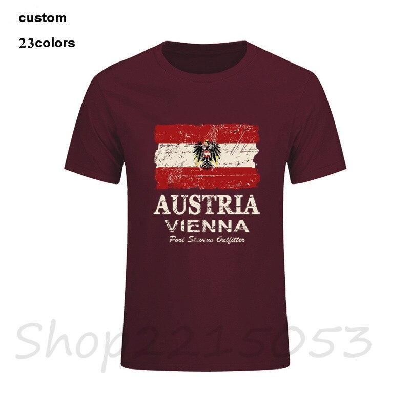 2018 camisetas para hombre a la moda Austria bandera vegana camiseta masculina rick y morti stranger things pokemon dragon ball rick y morty nk