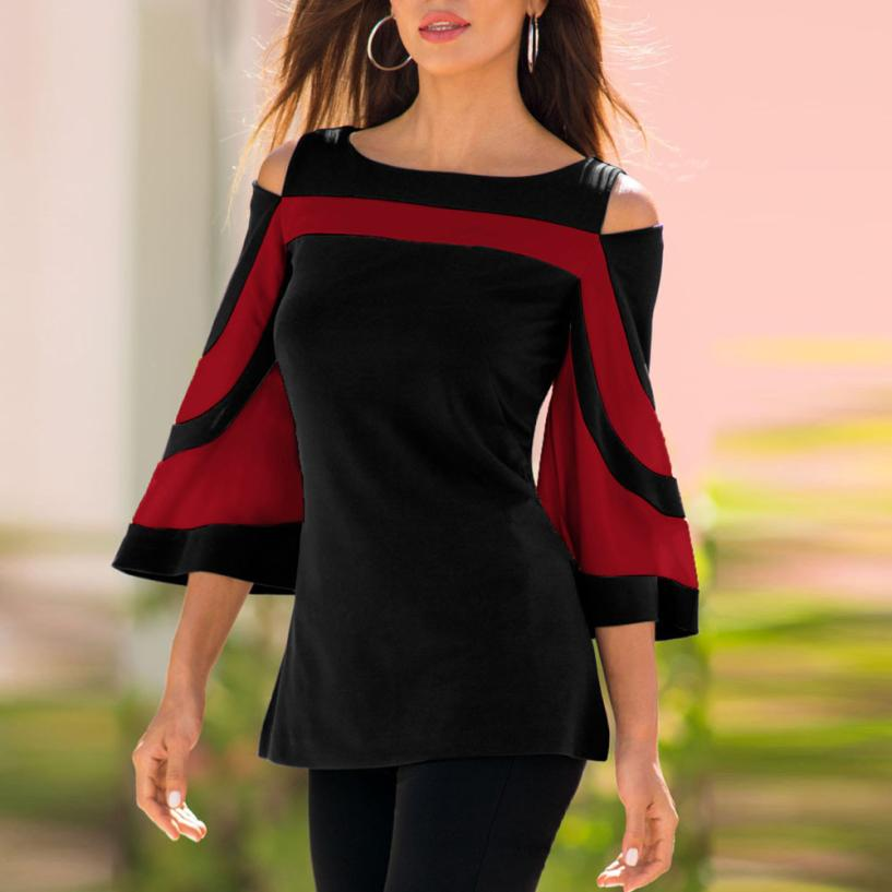 ¡Novedad de 2020! Blusa de verano a la moda para Mujer, blusas elegantes para Mujer, blusas Vintage, Camisas para Mujer, Tops básicos formales de oficina
