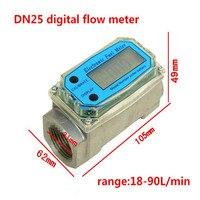 Digital Turbine Flow Meter petrol fuel gauge caudalimetro Flowmeter plomeria Pumping flow indicator sensor Counter DN40 G1.5