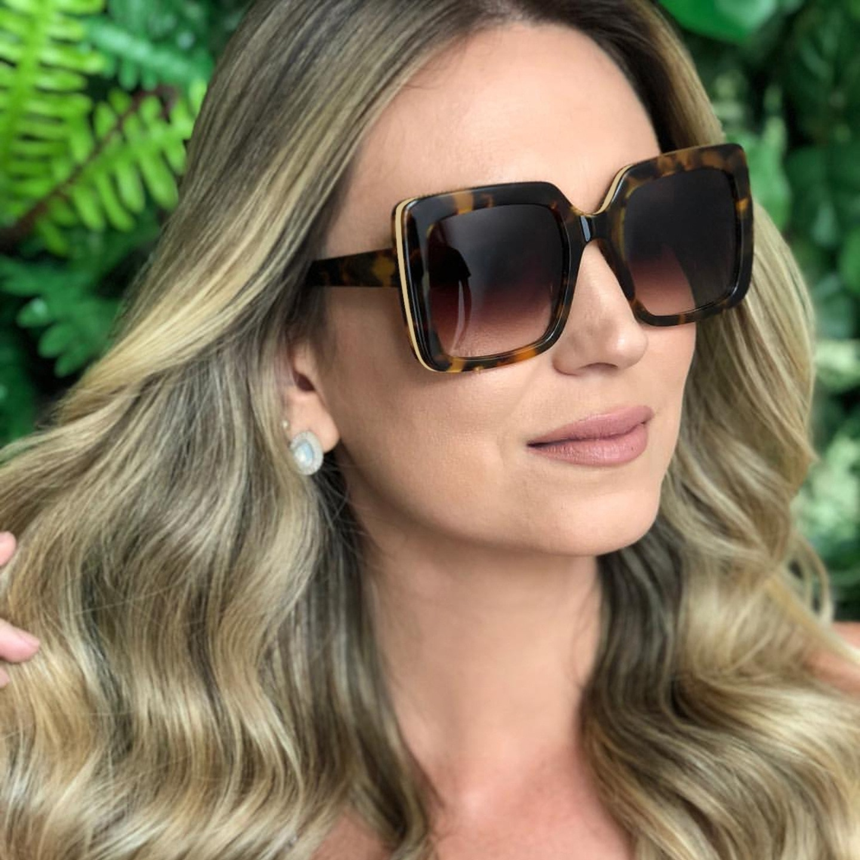 Square Oversized Sunglasses Women 2019 Luxury Brand Design Big Frame Butterfly Retro Eye Sun Glasses Shades for Women Plus Size