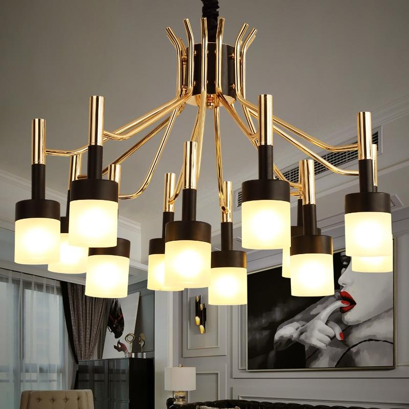 Nórdica colgante luces para el hogar iluminación moderna lámpara colgante acrílico pantalla LED Bombilla habitación dormitorio lámpara colgante 90- 260 V