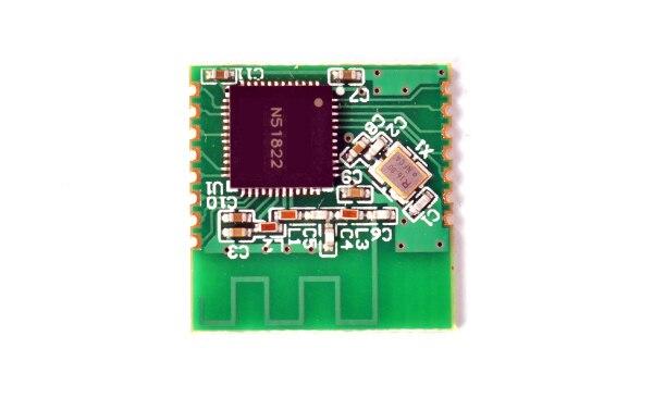 Envío Gratis, 1 unidad, nordic nRF51822, módulo Bluetooth 4,0, transmisión en serie TTL, iBeacon UART con instrucciones
