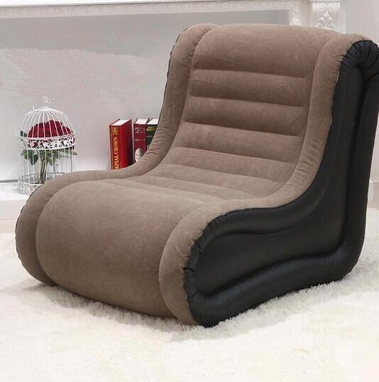 Descanso de pescoço e apoio traseiro sofá preguiçoso sofá cama inflável, cadeira de cinema, sofá de lazer ultra-luxo, cadeira de saco de feijão inflado