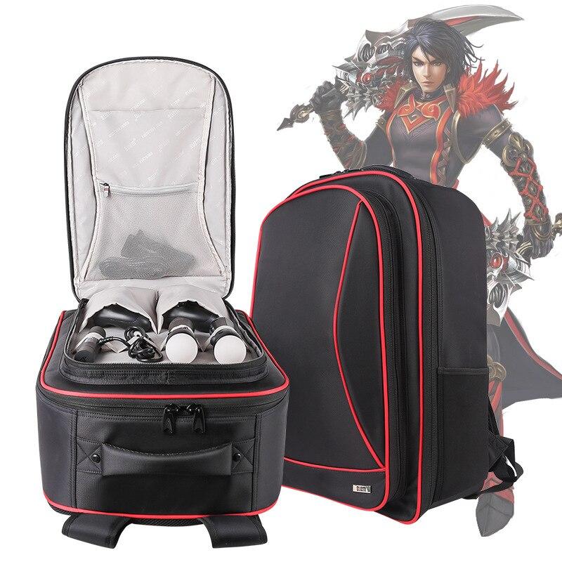 Bolsa para videojuegos BUBM para Sony VR + PS4, estuche para videojuegos, resistente al agua, protectora Digital, bolsa de transporte para viajes