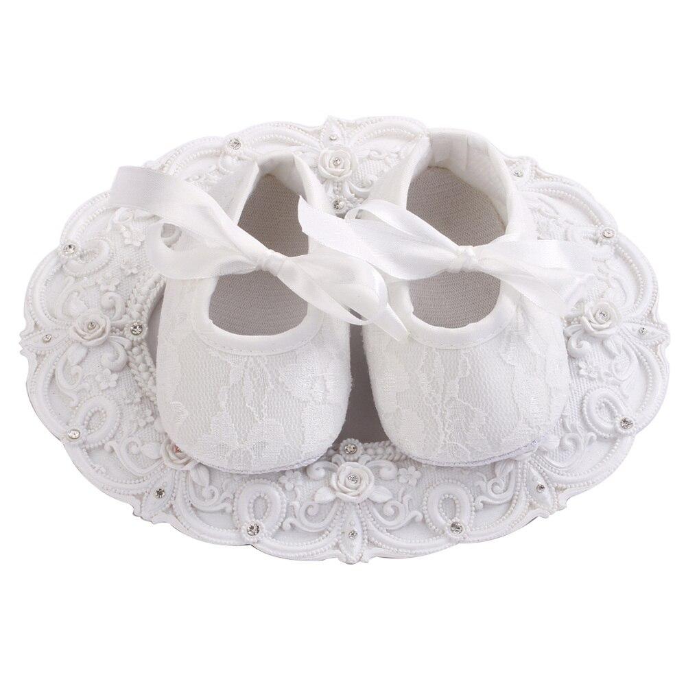 Lote de 4 pares de zapatos de niña con flor color blanco marfil, zapato Bebe, zapatos de niña para antes de comenzar a andar, zapatos de niña para bautizo, zapatos de bailarina de encaje