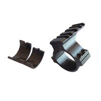 Drop shipping Laserspeed picatiinny rail ring 30mm scope mount ring 25.4mm flashlight mount