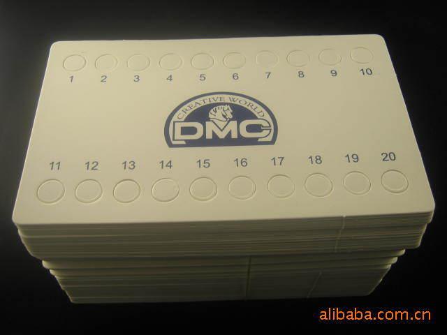 Oneroom вышивка крестиком DMC резьбы доски органайзер для ниток 20 отверстиями, плотная белая карта резьбы доска вышивка крестиком аксессуары
