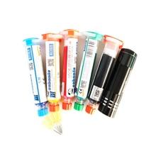 Mécanicien 10cc UV masque de soudure PCB BGA peinture prévenir la corrosion arc soudure flux de soudage huile 12 V led UV lampe de polymérisation