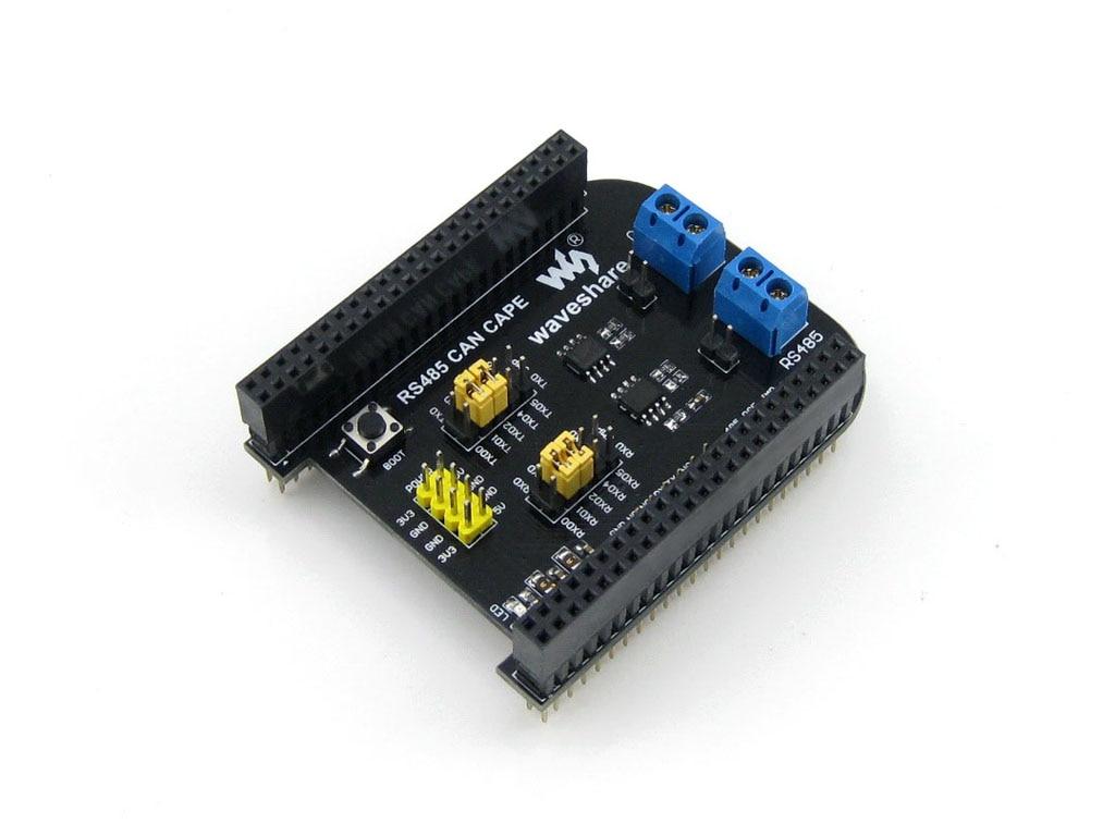 Envío Gratis Beaglebone bb negro para gpio tarjeta de expansión rs485 puede BB Placa de extensión negra, interfaz RS485, interfaz can