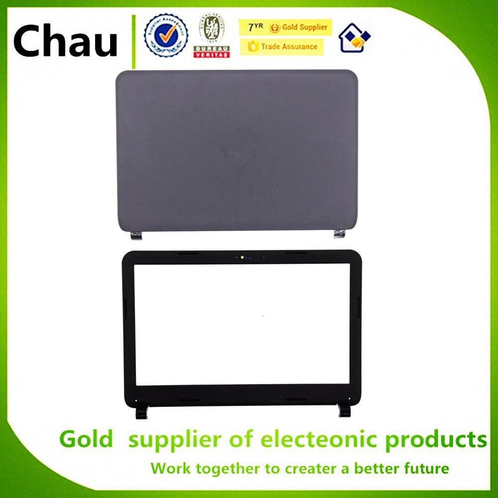 Chau новый для HP 14-G 14-R 240 G3 245 246 G3 LCD задняя крышка P/N 766897-001 черный/ЖК передняя панель