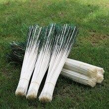 Tige de plumes de paon 100 pièces/lot   Flotteurs de plumes de paon de 60cm de long, 5.5 à 6mm de long, vente en gros