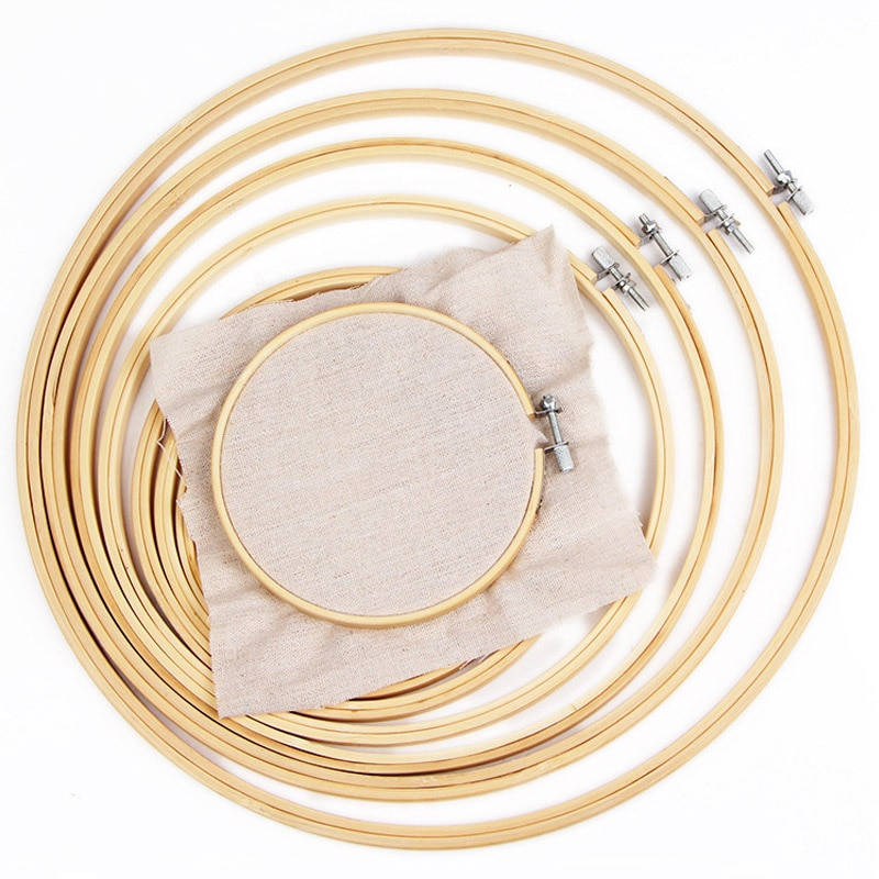 13-30 см деревянный каркас обод кольцо вышивка круглая машина бамбук для вышивки крестиком ручной DIY домашнее Ремесло Швейные Инструменты