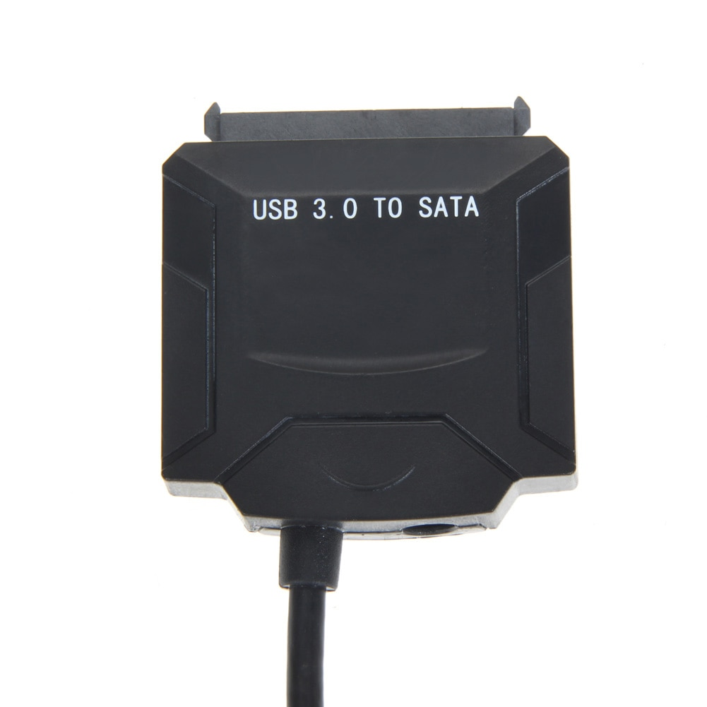 Cable adaptador USB 3,0 a SATA para 2,5 /3,5 unidad de disco duro HDD SSD BLU-RAY DVD/CD-ROM/DVD-ROM