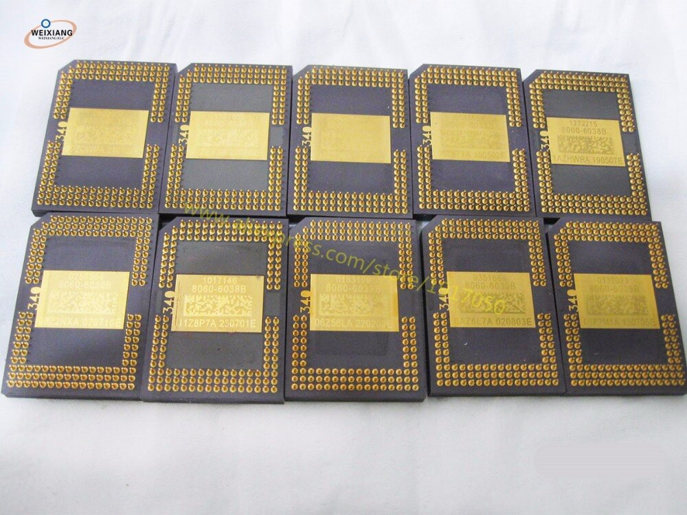 Projetor Original Chip DMD 8060-6038B 8060-6138B 8060-6039B 8060-6139B 8060-6238B 8060-6239B 8060-6338B 8060-6339B 8060-6438B